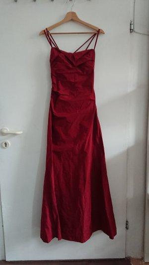 Bordeauxrotes Abendkleid in Größe 36 von Vera Mont