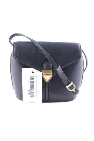 Borella Minitasche schwarz-goldfarben klassischer Stil