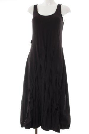 Boris Industries A-Linien Kleid schwarz Casual-Look