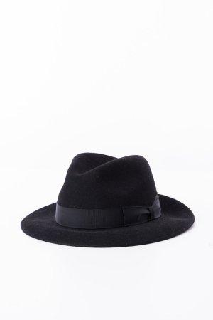 BORSALINO - Hut mit Krempe Schwarz