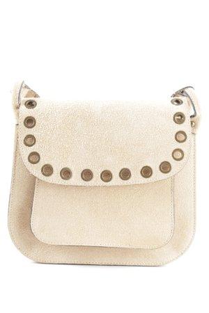 Borse in Pelle Italy Carry Bag cream elegant