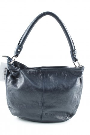 Borse in Pelle Italy Carry Bag dark blue casual look