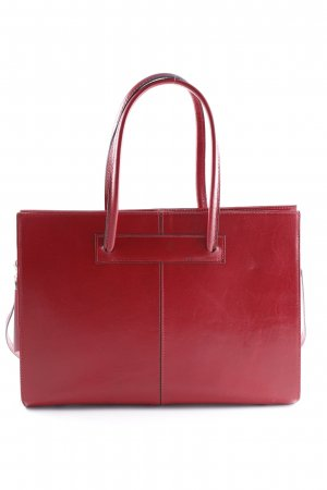 Borse in Pelle Italy Carry Bag carmine-red business style