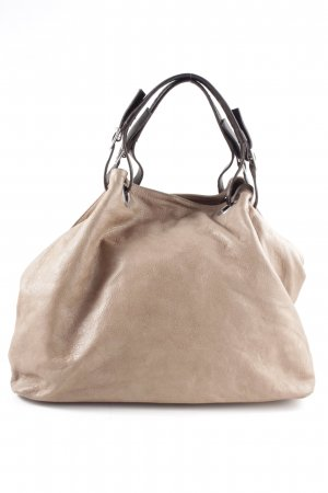 Borse in Pelle Italy Bolsa Hobo nude look casual