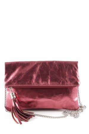 Borse in Pelle Italy Minitasche rot Elegant