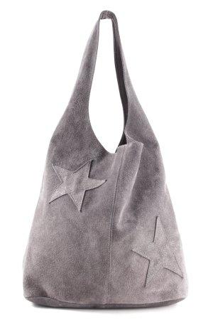 Borse in Pelle Italy Shoulder Bag light grey casual look