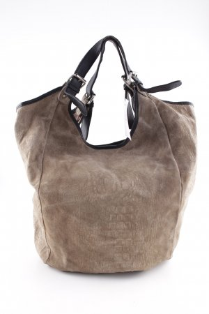 Borse in Pelle Italy Shopper hellbraun Casual-Look