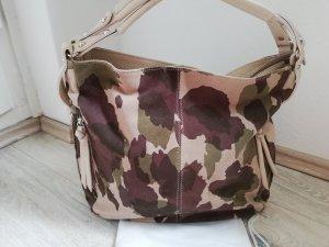 Borse in Pelle Italy Wildledertasche camouflage - neuwertiger Zustand -