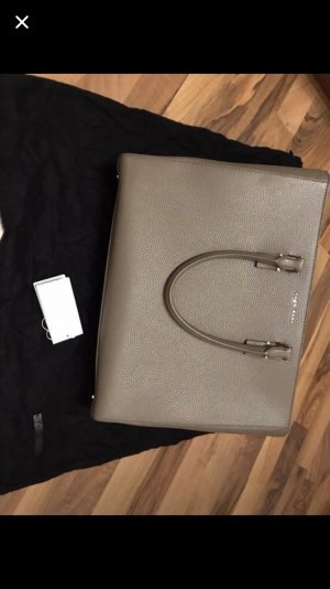 Hugo Boss Briefcase light brown leather