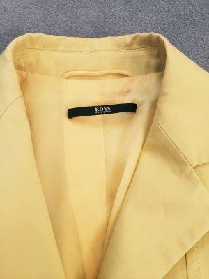 BOSS Blazer in aktueller Saisonfarbe gelb in Größe 34