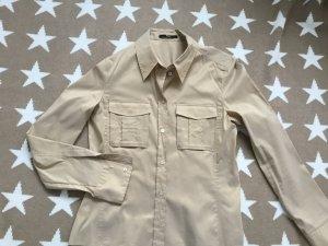 Hugo Boss Glanzende blouse veelkleurig Katoen