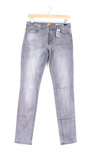 Boss Orange Straight Leg Jeans silver-colored-grey