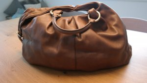 Hugo Boss Carry Bag brown leather