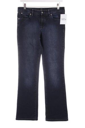 Boss Hugo Boss Boot Cut Jeans blau Casual-Look