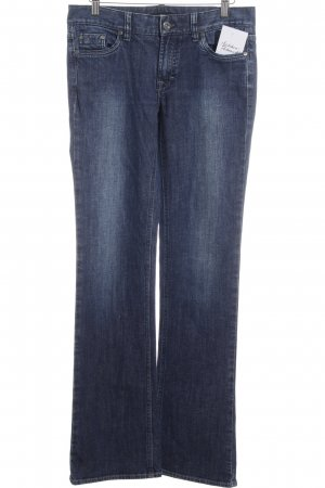 Boss Hugo Boss Boot Cut Jeans dunkelblau Casual-Look
