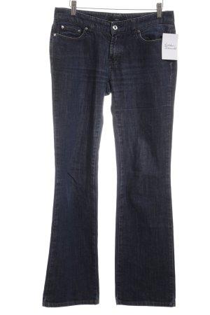 Boss Hugo Boss Boot Cut Jeans dunkelblau Casual-Look