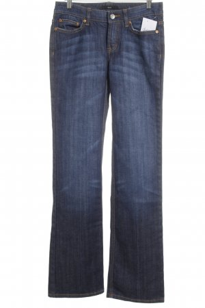 Boss Hugo Boss Boot Cut Jeans dunkelblau Street-Fashion-Look