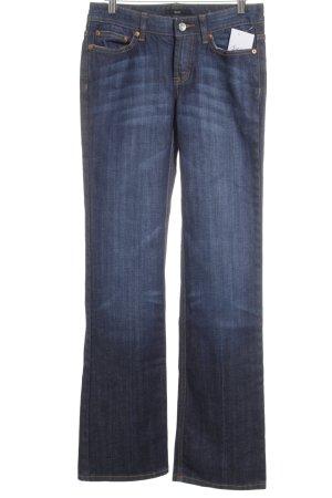 Boss Hugo Boss Boot Cut Jeans dunkelblau Street-Fashion-Look