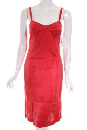 Boss Hugo Boss Vestido bustier rojo elegante