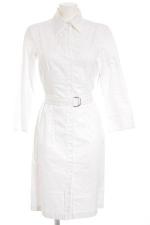 Boss Hugo Boss Robe chemise blanc style classique