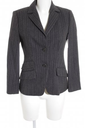 Boss Hugo Boss Long-Blazer dunkelgrau Business-Look