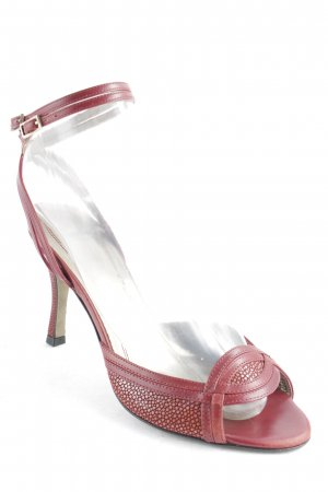 Boss Hugo Boss High Heel Sandal dark red simple style