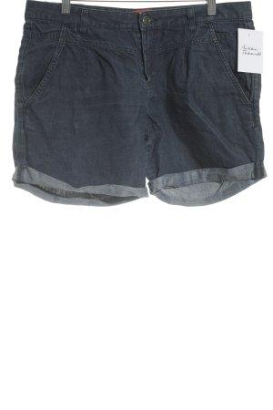 Boss Hugo Boss Shorts dunkelblau Casual-Look
