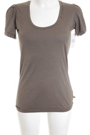 Boss Hugo Boss T-Shirt graubraun schlichter Stil
