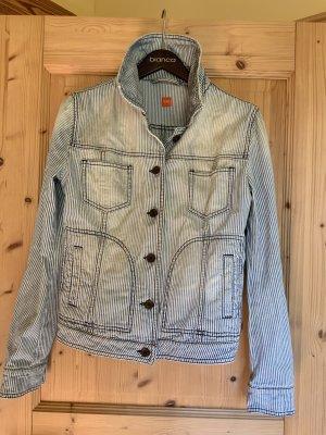 Hugo Boss Denim Jacket azure-white