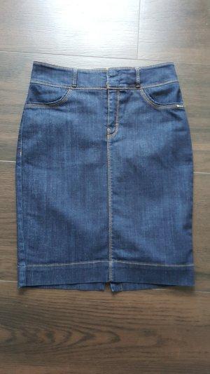 BOSS Jeansrock 36 Nelana dunkelblau Bleistiftrock