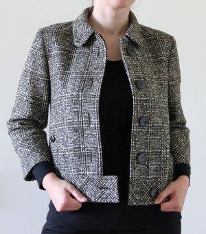 Boss Kaschmir-Wolljacke mit Bouclé-Muster - kaum getragen