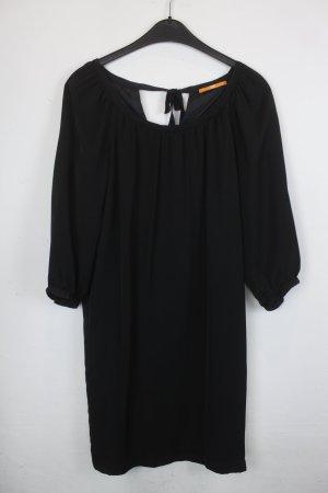 Boss Kleid Blusenkleid Gr. M schwarz (18/5/039)