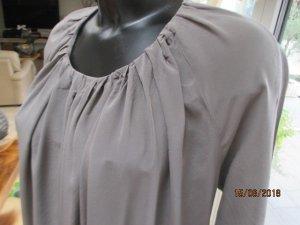Boss Orange 100% Seide Kleid Tunika Gr. 36 taupe