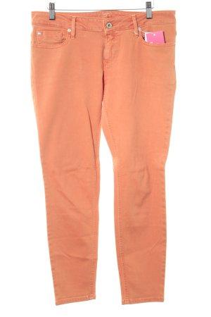 Boss Orange Jeans a 7/8 arancione stile casual