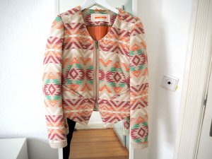 BOSS ORANGE Blazer Ethno Sommer Boho grafisch Blogger