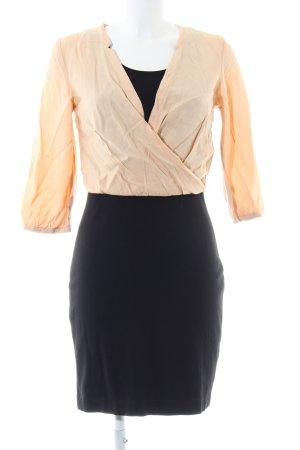 Boss Orange Robe chemisier noir-rose chair style d'affaires