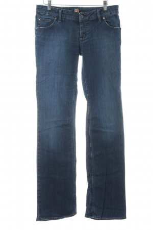Boss Orange Boot Cut spijkerbroek blauw casual uitstraling