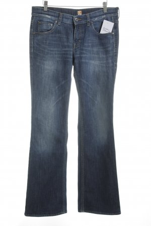 Boss Orange Boot Cut Jeans blau Casual-Look