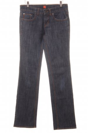 Boss Orange Boot Cut Jeans dunkelblau Casual-Look