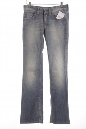 Boss Orange Boot Cut Jeans stahlblau Bleached-Optik