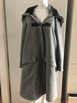 Boss Orange Hooded Coat grey