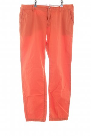 Boss Orange Chinohose rot Casual-Look