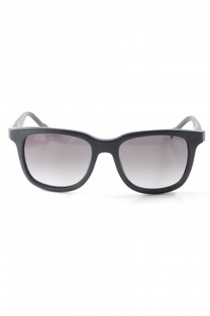 Boss Orange eckige Sonnenbrille schwarz Casual-Look