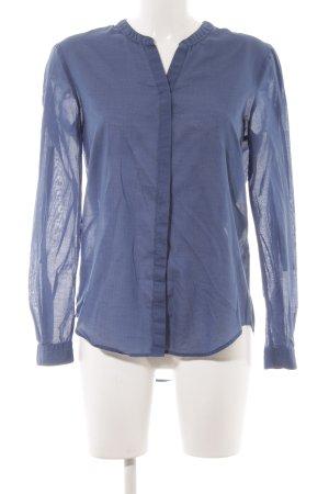 Boss Orange Hemd-Bluse blau-anthrazit Karomuster klassischer Stil
