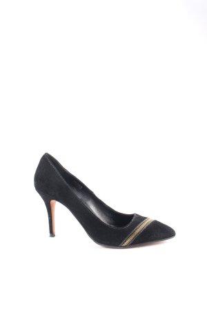 Boss Orange High Heels schwarz-goldfarben Elegant