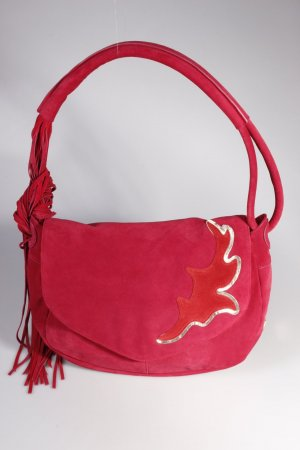 Boss Orange Hobo Laella Shoulder Bag Dark Pink