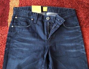 Boss Orange Jeans stretch bleu-bleu foncé