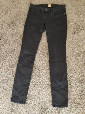 Boss Orange Hose Jeans Schwarz