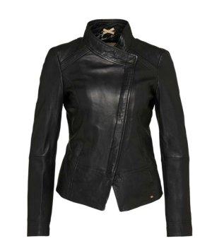 BOSS ORANGE Jacke aus Schafsleder 'Jopida2' schwarz