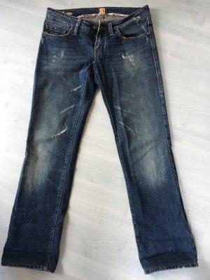 Boss Orange Jeans Gr. 29/34 Used Look